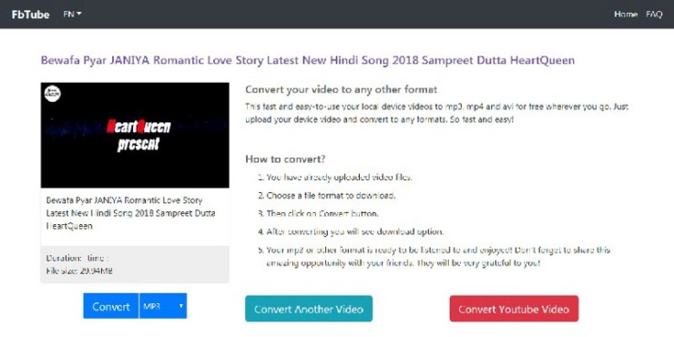 How to Convert YouTube & Facebook Videos to MP3 (Audio